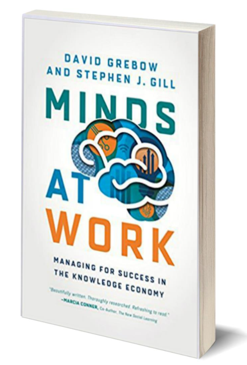 Book by Steven Gill and David Grebow Minds at Work