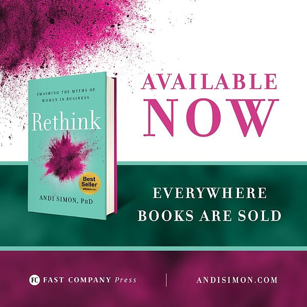 Rethink book available now