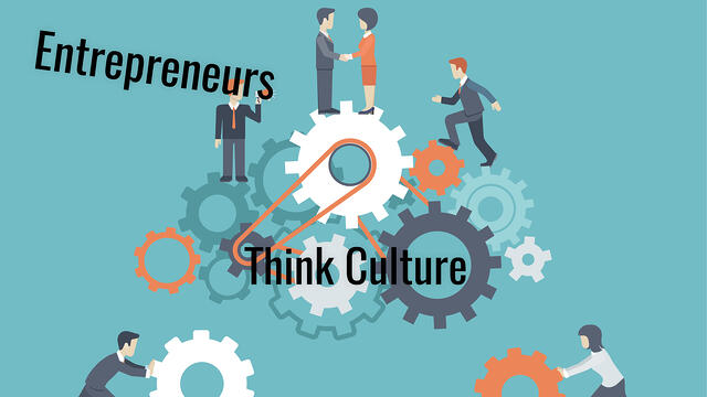 "Entrepreneurs: Think ""Business Culture"" First, Not Last!"