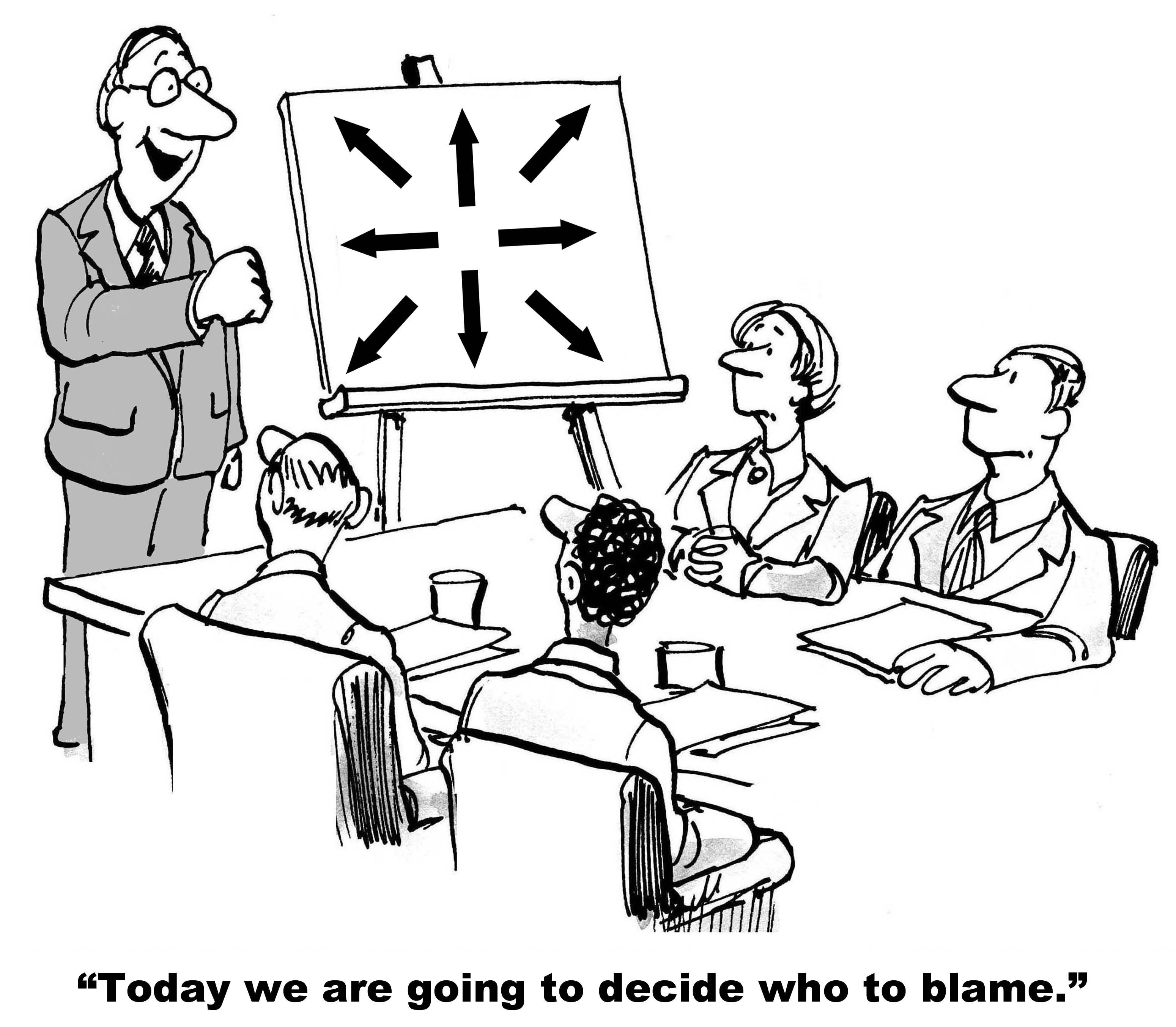 Broken Corporate Cultures: Time To Stop Blaming And Start Fixing