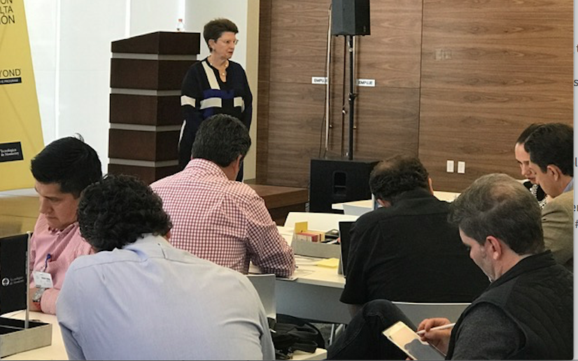 ITESM CEO Workshops on How to Manage Business Change